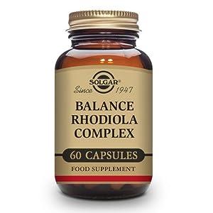 Solgar Balance Rodiola Complex Cápsulas vegetales - Envase de 60 ...