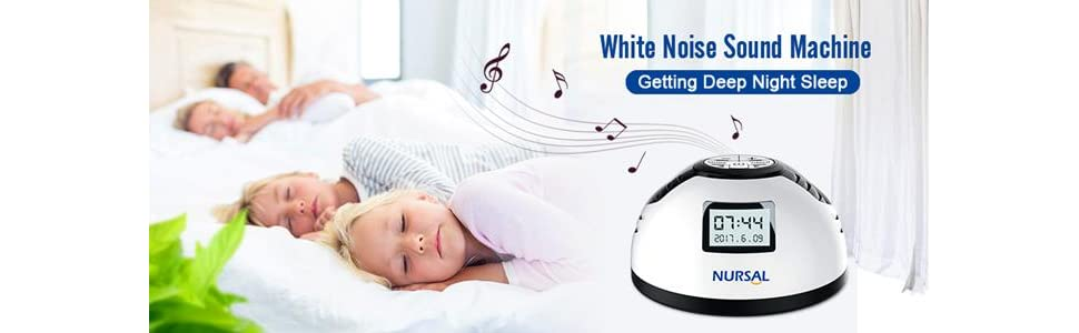 NURSAL White Noise Machine - HK Shared Dream