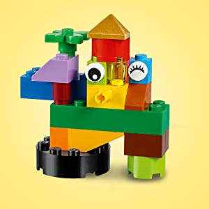 Lego 11002 Activity & Amusement For Girls 4 Years & Above,Multi color