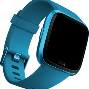 Fitbit Versa Lite - Reloj Deportivo inteligente Smartwatch, Adultos Unisex, Gris/Oscuro,Gris (Charcoal/Silver Aluminum): Fitbit: Amazon.es: Deportes y aire libre