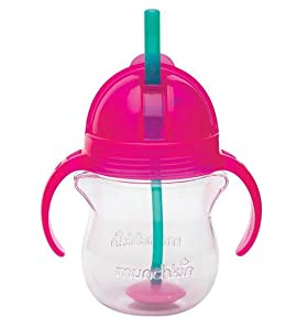 Munchkin Click Lock Weighted Flexi Straw Cup Colors May