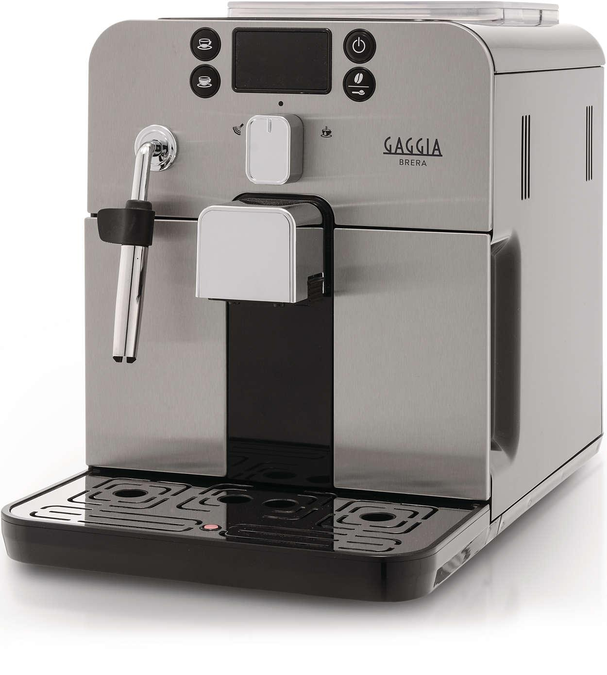 Gaggia Brera Bean to Cup Coffee Machine: Amazon.co.uk ...