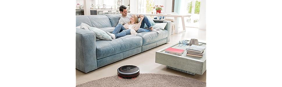 Vileda VR 302 - Robot aspirador autónomo para la limpieza eficaz ...