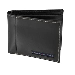 Tommy Hilfiger Men's Cambridge Passcase Billfold Wallet [31TL22X063]