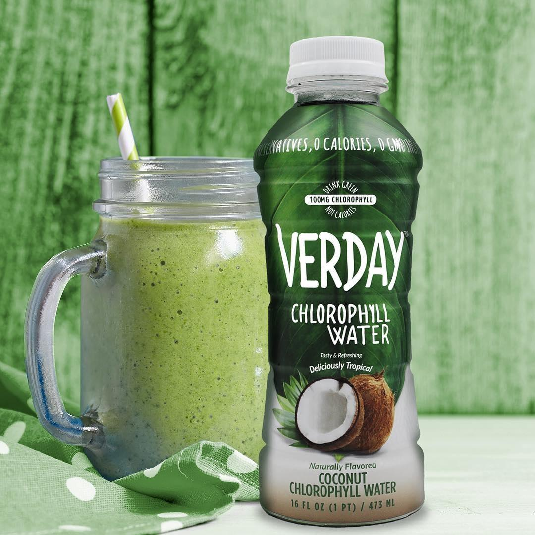 Verday Chlorophyll Water, Watermelon, 16 Ounce, 12 Pack ...
