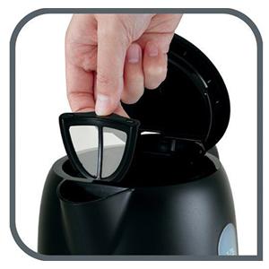 Tefal Equinox Kettle - 1.7 litre, Black