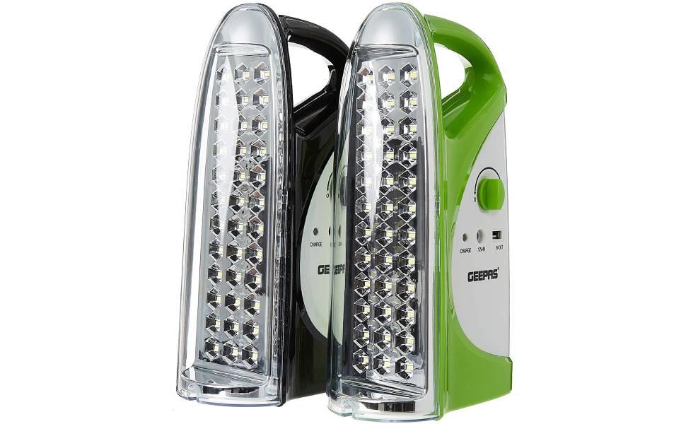 Geepas, Ge5559, 200 Hours Continuous Working Emergency Lantern