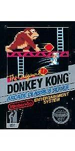 Super Mario Bros, Super Mario Bros 3, The Legend of Zelda, Donkey Kong, Metroid, Kirbys Adventure