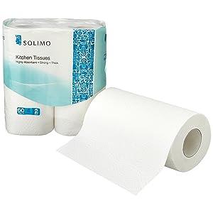 Solimo Kitchen Tissue Rolls
