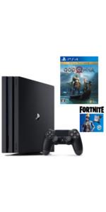 【プライムデー販売】PlayStation4 Pro フォートナイト ネオヴァーサバンドル + ゴッド・オブ・ウォー セット