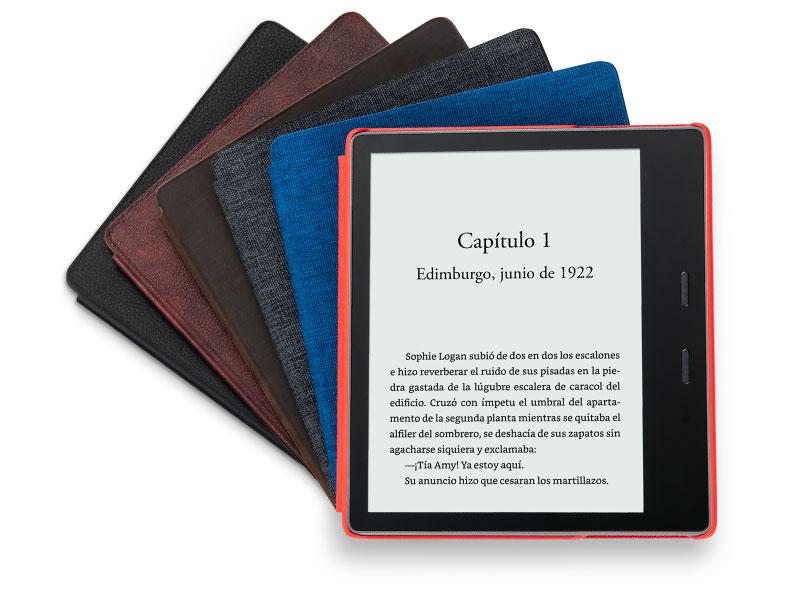 Kindle Oasis, ahora con luz cálida ajustable, resistente al agua ...
