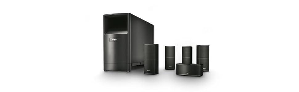 Bose® Sistema di diffusori home cinema Acoustimass® 10 Serie V 3d6d3d67accf