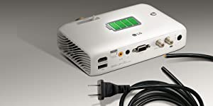 LG CineBeam PH550G - Proyector con batería integrada (hasta 100 ...