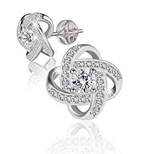 Swarovski Elements 925 Sterling Silver