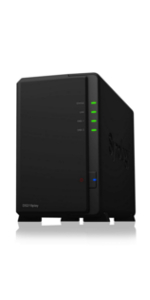 Synology シノロギー DiskStation DS218play 2ベイ NAS キット 日本正規代理店アスク サポート対応 クアッドコアCPU搭載 保証2年 CS7089