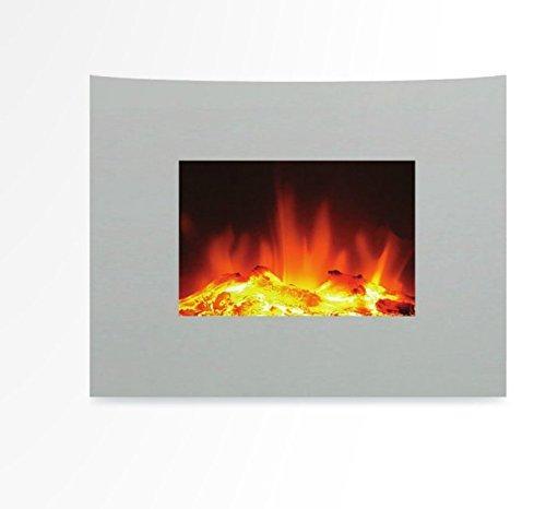 Ardes ar372b camino elettrico da parete camiwall effetto fiamma ceppo ardente con telecomando 2 - Camino elettrico da parete ...