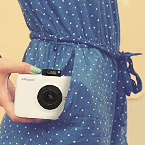 putting camera in pocket