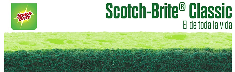 Scotch-Brite Fibra Verde Popular 2 1 Gratis Classic