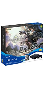 PlayStation (R) 4 MONSTER HUNTER: WORLD Starter Pack Black