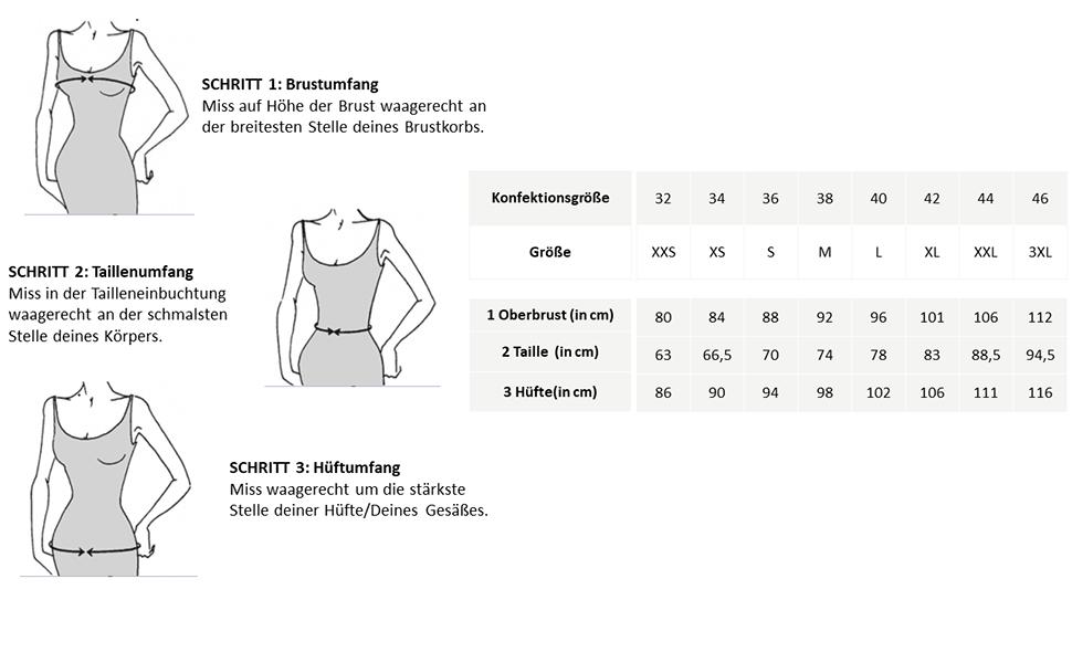 esprit collection dresses measuring chart