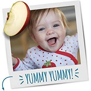 Designed for Crawlers, Gerber Lil' Crunchies are made with whole grains and real ingredients.