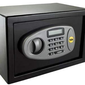 Color Rojo ANMAS HOME Caja de Seguridad electr/ónica Digital Personal con Caja de Seguridad