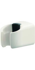 SANEI PCシャワー掛具 ビス位置調整可能 ビス・プラグ付き ホワイト PS32-85-W
