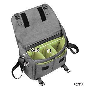 HAKUBA カメラバッグ プラスシェル シティ03 メッセンジャー 8.5L L グレーSP-CT03-MBLGY