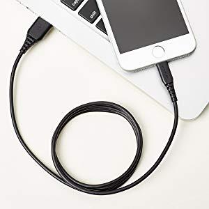 Amazonベーシック Lightning - USB Aケーブル  MFi認証iPhone充電ケーブル
