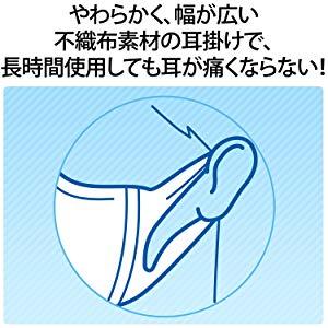 不織布素材の耳かけで長時間使用でも耳が痛くならない
