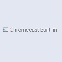 Chromecast built-in: Plays nice with your other devices