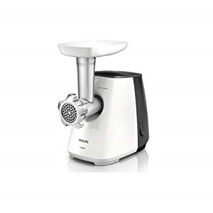 Philips 1600W Daily Collection Meat Mincer - HR2713, White