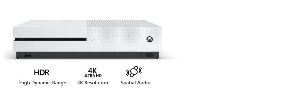 Amazon com: Xbox One S 500GB Console - Battlefield 1 Bundle