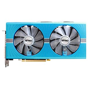 Sapphire Nitro+ Radeon RX 580 4GB GDDR5, Tarjeta Grafica, Negro