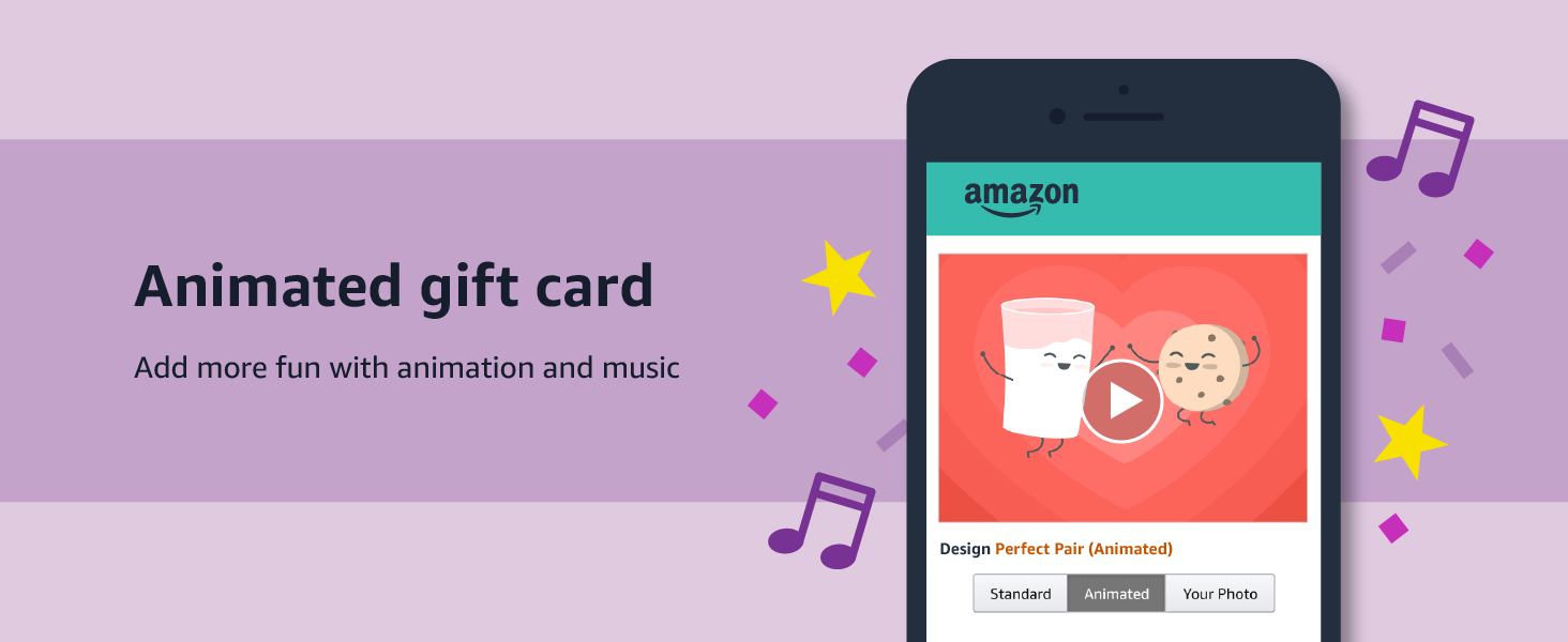 Animated gift card