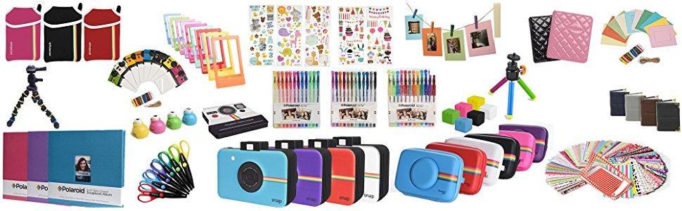 Polaroid accessories