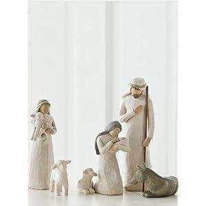 Amazon.com: Willow Tree Nativity Set: Home & Kitchen