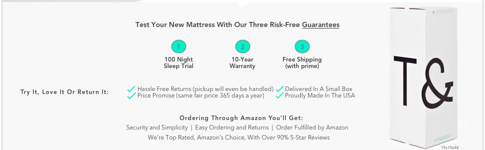 Amazon Com Tuft Amp Needle Queen Mattress T Amp N Adaptive