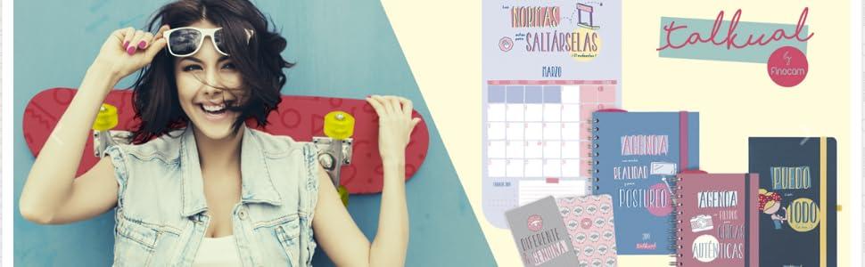 Agenda 2019 día página español