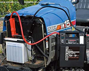 メルテック ポータブル電源 エンジンスターター DC12V ソケット1口 ライト付 SG-6000