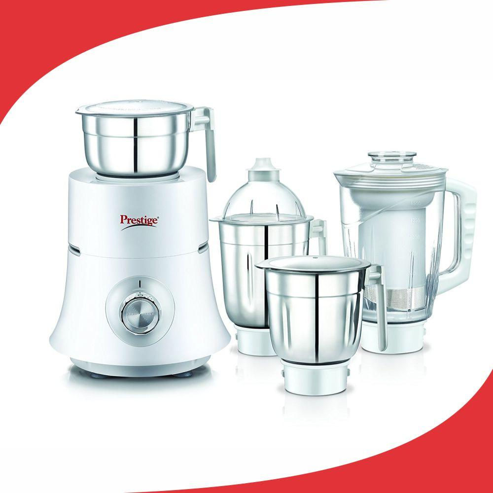 Buy Prestige Teon Plus (750 Watt) Mixer Grinder with 3 Stainless ...