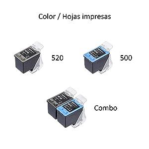 AmazonBasics - Cartucho de tinta regenerado, HP 56, negro: Amazon ...