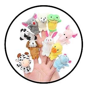finger soft toys