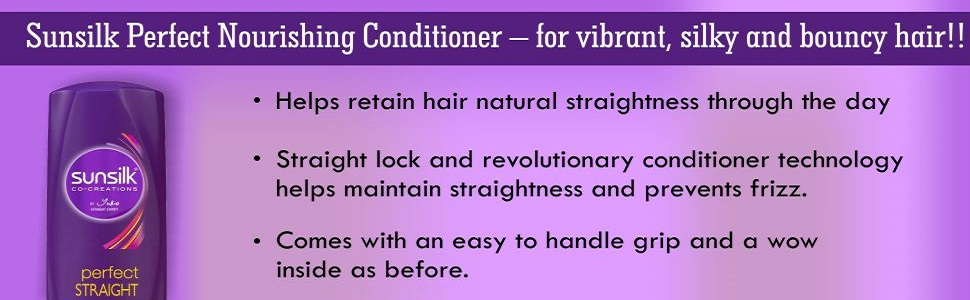 Sunsilk Perfect Straight Nourishing Conditioner