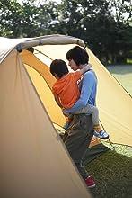 Coleman(コールマン) テント タフワイドドーム4/300スタートパッケージ [5~6人用] 2000031859 Coleman タフドームシリーズの特徴 ゆったり過ごせる居住空間