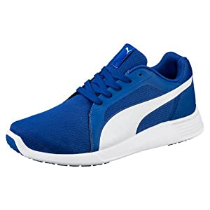 Zapato ST Evo Cross-Trainer para hombre, True Blue-Puma White, 10 M US