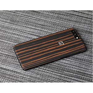 new concept 2aada a9a19 OnePlus 5 Protective Case - Ebony Wood: Amazon.ae: MostCool