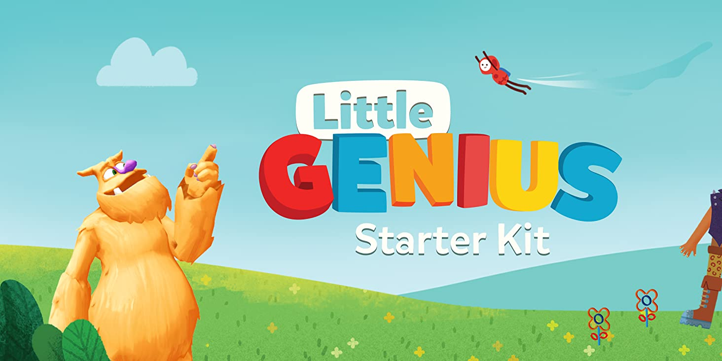 1- Osmo Little Genuis Starter Kit for Ipad