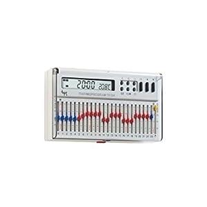 Cronotermostato elettronico giornaliero da parete bianco for Cronotermostato bpt th 124 prezzo