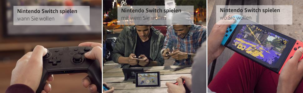 Nintendo Switch Anwendungen